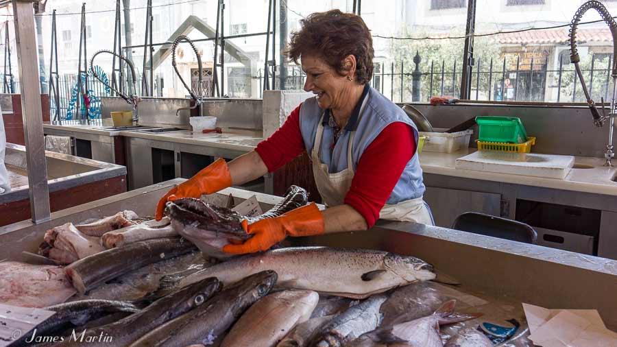 aveiro fish market