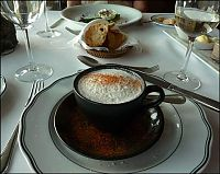 mushroom soup capuccino