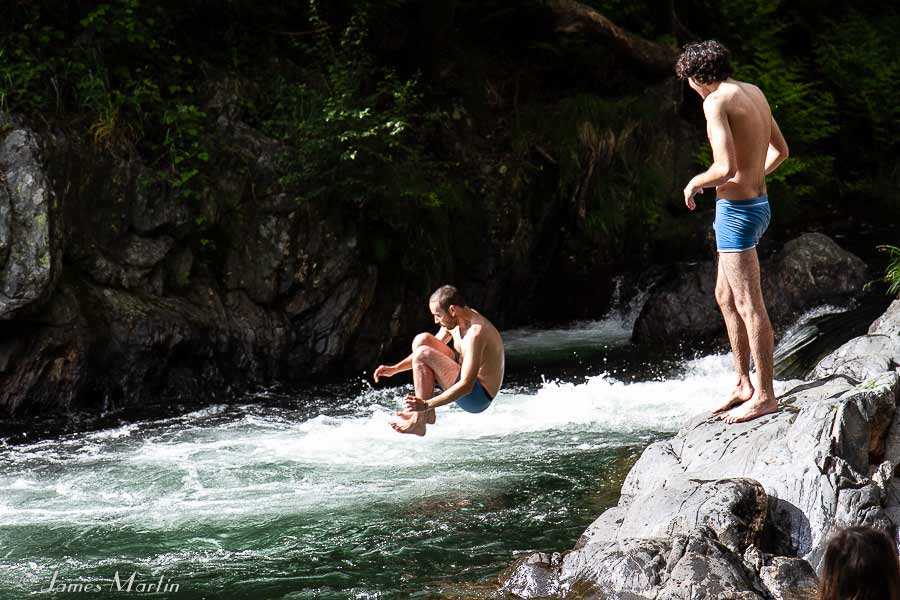 river diving