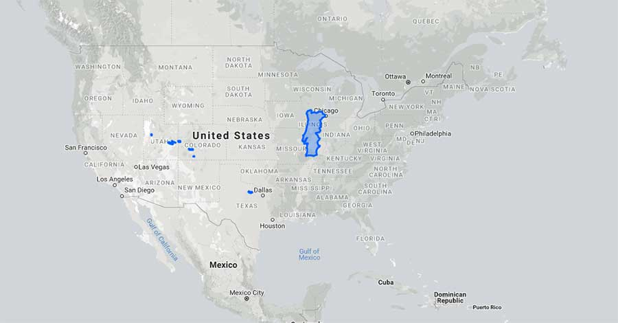 portugal size vs. US map