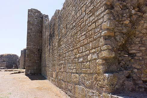 conimbriga wall