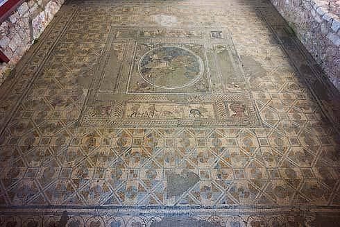 conimbriga floor mosaic